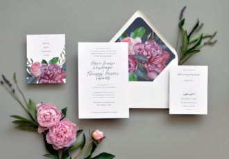 Alice Wedding Invitation
