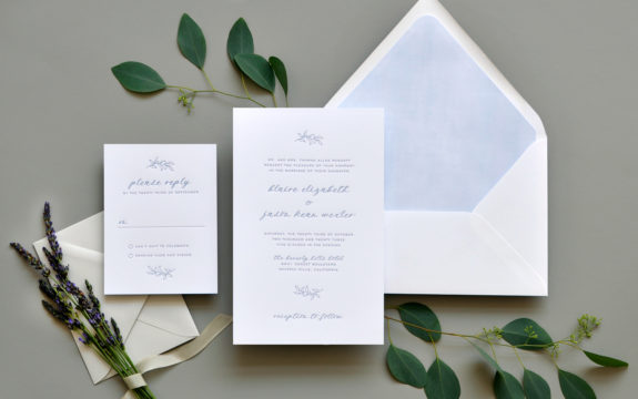 Blaire Wedding Invitation