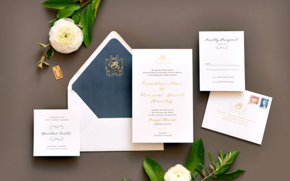 Emmaline Wedding Invitation