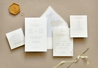Harper Wedding Invitation