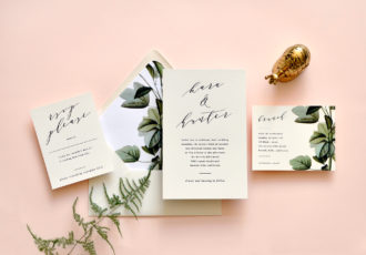Kara Wedding Invitation