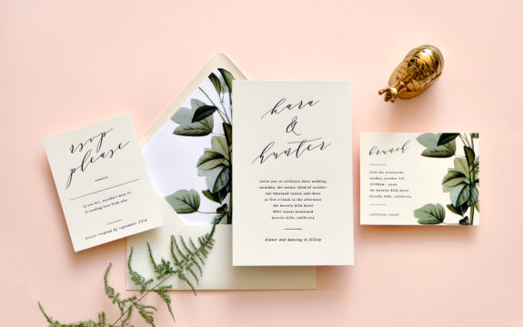 Kara Wedding Invitation