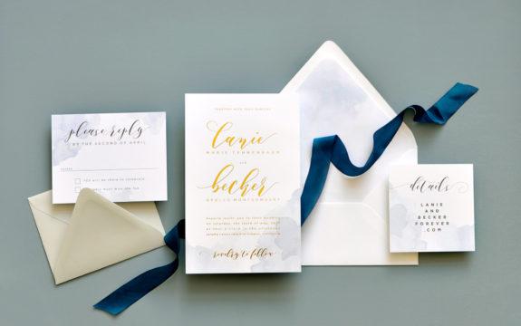 Lanie Wedding Invitation