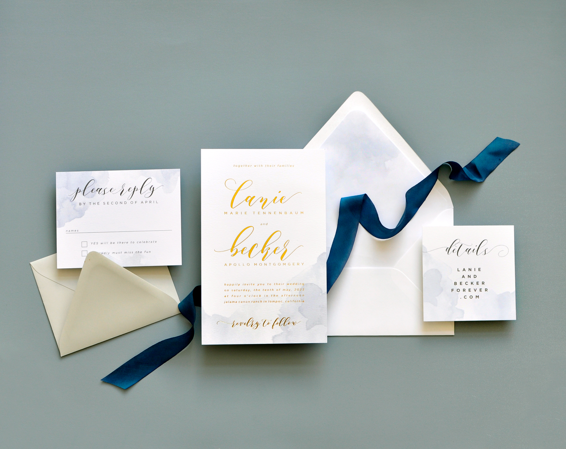 Lanie Wedding Invitation