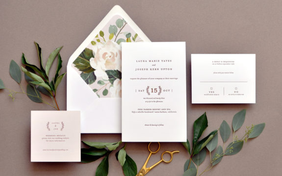 Laura Wedding Invitation