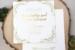 Verde Foil Stamped Luxury Wedding Invitation