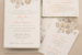 Custom wedding invitations by staccato
