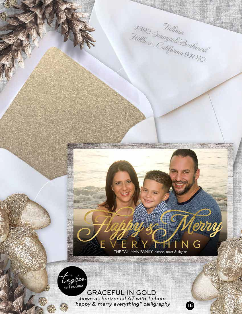 2017 holiday cards staccato
