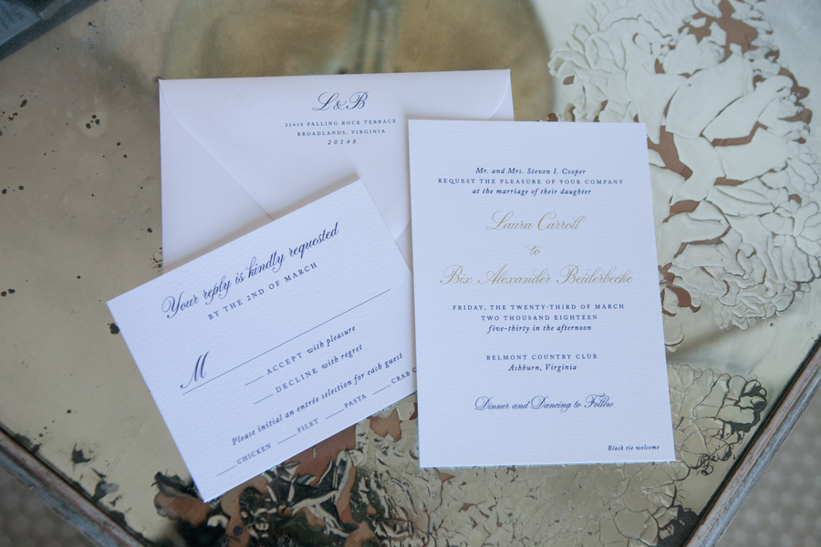 traditional and elegant wedding invitations and wedding day stationery