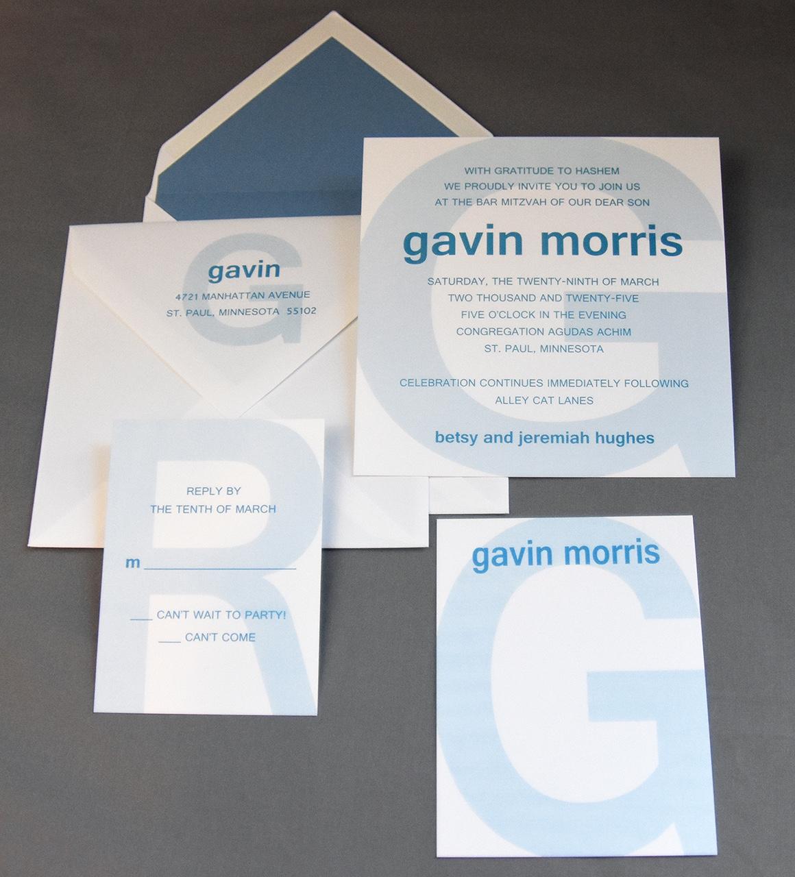 Gavin Morris Set