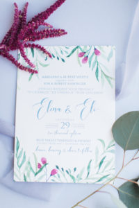 A Perfect Fall Wedding for Elena & Eli