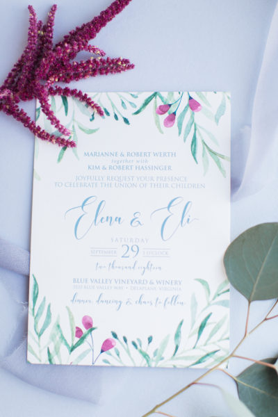A Perfect Fall Wedding for Elena & Eli