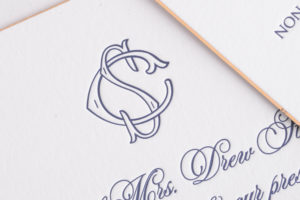 Sloane & Chase's Letterpress Wedding Invitations